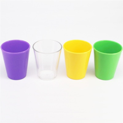 2017 hot selling vodka shot glasses custom clear shooter cup